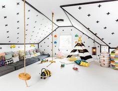 Kreatywna przestrzeń dla dzieci. http://domomator.pl/kreatywna-przestrzen-dla-dzieci/