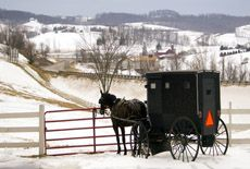Amish Country, Ohio (Holmes County) Must take her to Miller's Dry Goods in Charm.
