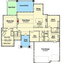 Plan RW Stylish Prairie Mountain Modern House Plan