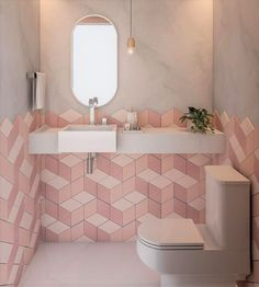 13 Tips to Make Your Bathroom Sparkle . Shop Interior Design, Bathroom Interior Design, Interior Decorating, Bedroom Design On A Budget, Modern Family Rooms, Grey Kitchen Designs, Pink Home Decor, Apartment Furniture, Lorena Lima