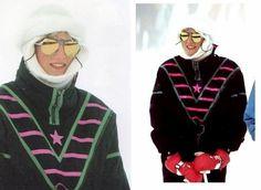 Royals à Klosters , le 17 février 1987 _ Suite