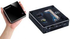 """¡Actualidad! Brix quiere transformar tu TV en una computadora. Brix, nombre que tiene el intento de parecerse a un """"ladrillo"""", es una computadora de tamaño muy reducido que ofrece poder, rendimiento y conectividad en un apartado muy pequeño. #Brix #computadora"""