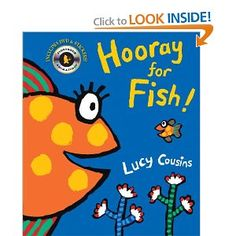 Amazon.com: Hooray for Fish! (Book & DVD) (9780763650445): Lucy Cousins: Books