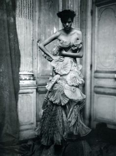 Freja Beha Erichsen photographed by Paolo Roversi 2008