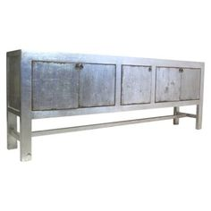 Check out this item at One Kings Lane! Silver 5-Door Tall Sideboard, Silver