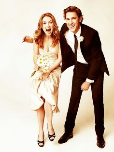 Jim and Pam.. the greatest TV couple of all time.