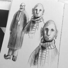"66 Likes, 1 Comments - Aida Osmonova (@gengis_art) on Instagram: ""~~ #artnestoltes ~~ Dia 20- ancestral Sketchbook 2 #challenge #day20 #fabercastell #polichromos…"""