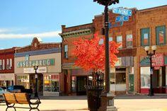 Small Town USA by Cheri Fredericks on Capture Minnesota // Downtown Chisholm