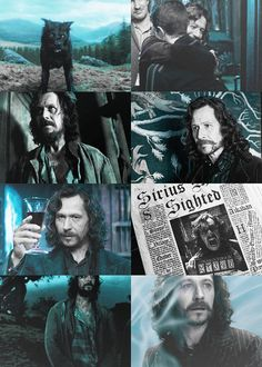 Day 3: Favorite Character...this one is very hard, I have so many favorite characters...Sirius Black wins today mainly because he is hilarious and gives the best advice...he is also human and makes mistakes