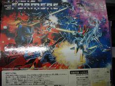 Transformers Skywarp and Thundertracker anni 80, in confezione nuova, Takara, originale.