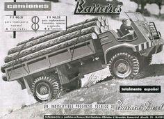 Publicidad de Camiones Forestales Barreiros en Revista Montes Monster Trucks, Madrid, Templates, Heavy Equipment, Classic Trucks, Old Bikes, Pegasus, Antique Cars, Real Estate