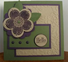 Posy Punch Ring Around The Posy! by avalnche19 - Cards and Paper Crafts at Splitcoaststampers