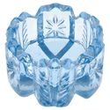 Light Blue Glass Salt Cellar