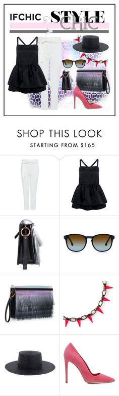 """""""If Chic Is Your Style"""" by ul-inn ❤ liked on Polyvore featuring Edit, Miista, Janessa Leone, Dee Keller, ifchic and ifhic"""