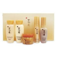 Sulwhasoo Basic Kit II (5 Items) (Miniature) by Sulwhasoo. $32.95. 1 Balancing Water 15ml. 1 First Care Serum 8ml. 1 Rejuvenating Eye Cream 3.5ml. 1 Balancing Emulsion 15ml. 1 Concentrated Ginseng Cream 5ml. 1. First Care Serum 8ml  2. Balancing Water 15ml  3. Balancing Emulsion 15ml  4. Ginseng Concentrated Cream 5ml ?????????????????? ?????????????????????????  5. Revitalizing Eye cream 3.5 ml
