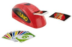 Brace yourself for the modern version of the UNO card game you know and love with UNO Attack! This spin on the original UNO card game involves a special electronic card shooter and an exclusive Attack! Fun Games, Games For Kids, Games To Play, Fun Activities, Lego Ninjago, Classic Card Games, Uno Card Game, Electronic Cards, Games