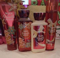 """Bath & Body Works"""" Warm Vanilla Sugar"""" Shower Gel,Lotion,Fragrance & Body Cream #BathBodyWorks"""