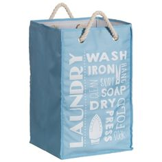 Laundry Bags With Handles Mesmerizing Grey Drawstring Fabric Laundry Bag With Handles  Pinterest