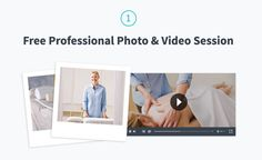 Want to know how you can get a free Professional Photo & Video Session for your massage business?  We arrange a 90 min session where we come to your clinic or location of your choice (if you're a mobile therapist) and take some professional photos of you and a video of you treating a customer.   We want to present you in the best, most professional way on Therapair to attract new customers and make you look awesome.  Find out more: www.therapair.co/join