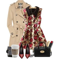 And I don't believe in the existence of angels but looking at you I wonder if that's true. by ifileavethisway on Polyvore featuring Burberry, Yves Saint Laurent, Bobbi Brown Cosmetics and Mulberry