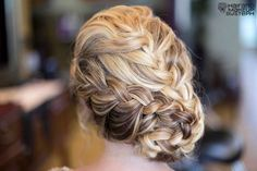 Amazing braided updo {Photo courtesy of Hair & Makeup by Steph via Project Wedding}