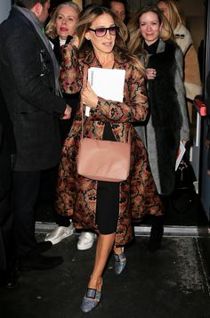 As if Sarah Jessica Parker's dazzling shoe line wasn't enough to satiate our thirst for everything SJP, there are now even more sartorial staples to...
