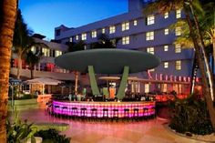Clevelander Hotel, Miami Beach, FL  LOVE this place! Great food, great bartenders and within walking distance to the beach!