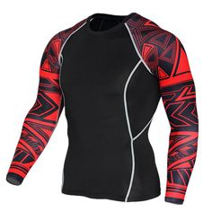 Mens Compression Shirts Bodybuilding Skin Tight Long Sleeves Jerseys Clothings Crossfit Exercise Workout Fitness Sportswea. Yesterday's price: US $10.78 (8.81 EUR). Today's price: US $9.27 (7.58 EUR). Discount: 14%.