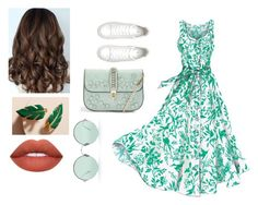 """""""Green"""" by hanka-bahnova on Polyvore featuring Topshop, Epona Valley and Sunday Somewhere"""