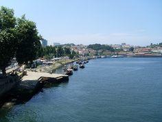 Vistas desde el mirador de la base del puente Don Luis I  de Vila Nova de Gaia #Oporto