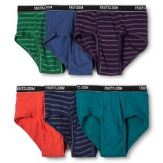 Fruit of the Loom Select Men's Classic Briefs MultiColored XL, Variation Parent