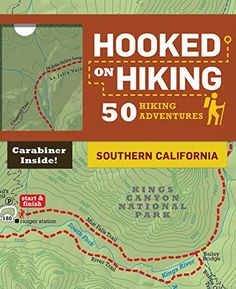 Hooked on Hiking: Southern California: 50 Hiking Adventures by Bart Wright:  Each of these decks is packed with 50 hiking adventures and comes equipped with a handy clip-on carabiner for bringing cards along wherever the trail leads.  Take a hike through Southern California's beautiful parks, forests, and more. Hikes include: Joshua Tree Death Valley Channel Islands National Park Kings Canyon