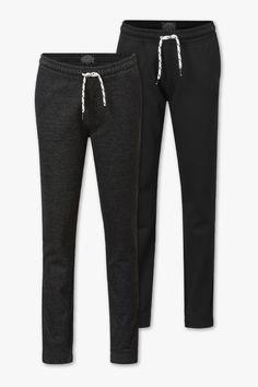 Joggingbroeken - biokatoen - duopack | C&A Sweatpants, Tops, Fashion, Fashion Trends, Moda, Fashion Styles, Fashion Illustrations