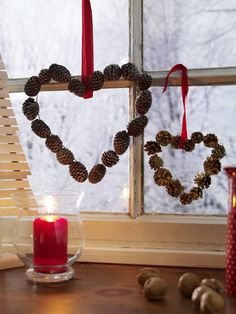 Get inspired by these Elegant Christmas Window Décor Ideas to transform your home into a festive haven this season and a gathered place for family and friends. Elegant Christmas, Noel Christmas, All Things Christmas, Christmas Wreaths, Christmas Ornaments, Magical Christmas, Christmas Cookies, Decoration Vitrine, Christmas Window Decorations
