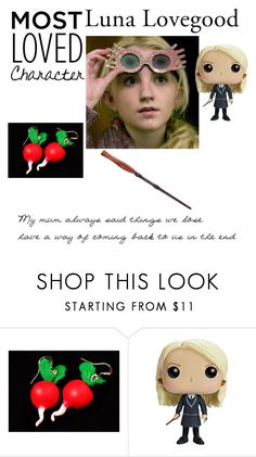 """Luna Lovegood"" by leo-harry-potter ❤ liked on Polyvore featuring Luna and Funko"