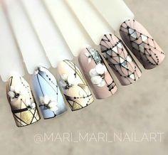 Creative Nail Designs, Beautiful Nail Designs, Creative Nails, Nail Manicure, Gel Nails, Acrylic Nails, Cute Nails, Pretty Nails, Nail Art Wheel
