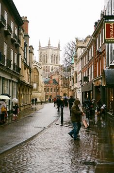 A Rainy Cambridge (by marcus hessenberg)