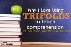 Why I Love Using Trifolds to Teach Novel Studies & Because of Winn-Dixie - thethirdwheel Reading Comprehension Skills, Reading Passages, Teaching Reading, Teaching Ideas, Guided Reading, Reading Lessons, Close Reading, Reading Resources, Science Writing