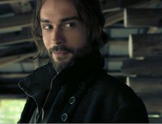 Tom Minson as Ichabod Crane from Sleepy Hollow