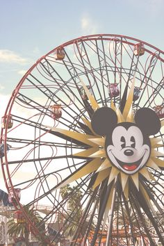 Mickey's Fun Wheel. I have yet to see a bad photo of this landmark.