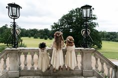 Little Jessamine, one of the Twins, and Hollyhock, before mourning