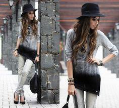 Kodifik Top, Zara Jeans, Bracelets