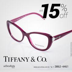 Óculos de Grau Tiffany&Co. com até 15% de desconto, corre!  Compre pelo site em até 10x Sem Juros e Frete Grátis nas compras acima de R$400,00 reais.  www.aoculista.com.br/tiffany-co  #aoculista #Tiffany&Co #glasses #eyeglasses #oculos #oculosdegrau