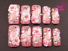 kimono -- gyaru pink blossoms