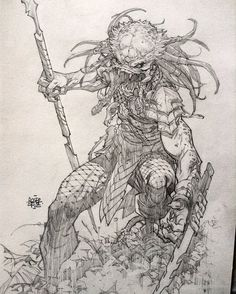 Predator Commission 2 by rogercruz