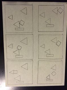 Vierkant dat valt