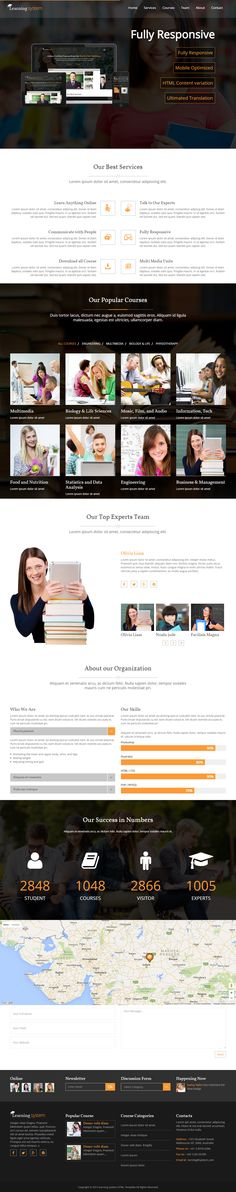 Transitec is Premium Responsive Retina Parallax #HTML5 Template - free test templates