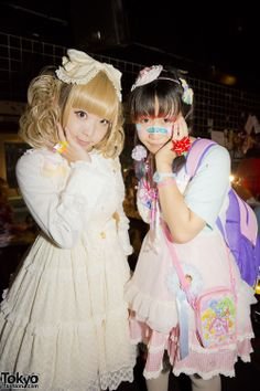 Fairy Kei and Cult Party Kei looks at the Harajuku Heavy Pop # 11 party