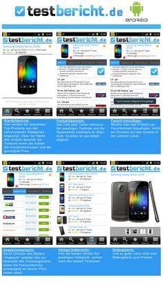 testbericht.de App für Android. #App #Android #testbericht #Preisvergleich #Test