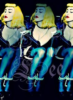 Madonna loves you: #UnapologeticBitch Nº1 by Najash Lee Copyright © Najash Lee 2014